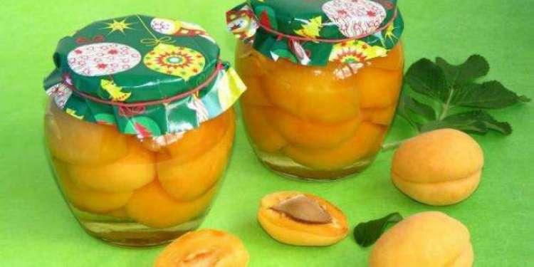 Компот из абрикосов на зиму рецепты с фото