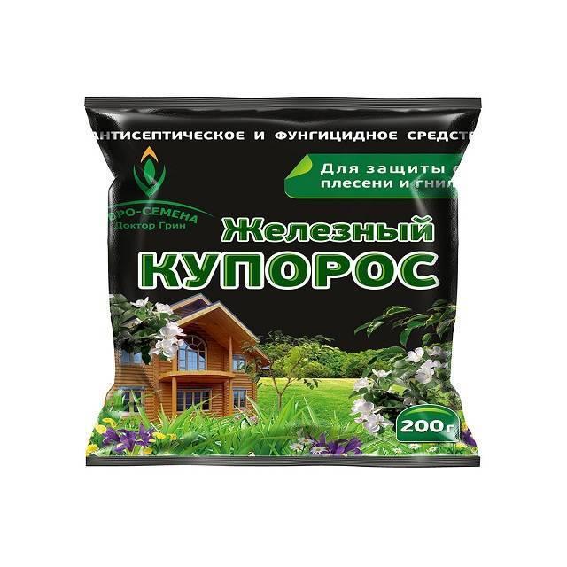Железный купорос: состав, свойства, применение в садоводстве, порядок обработки