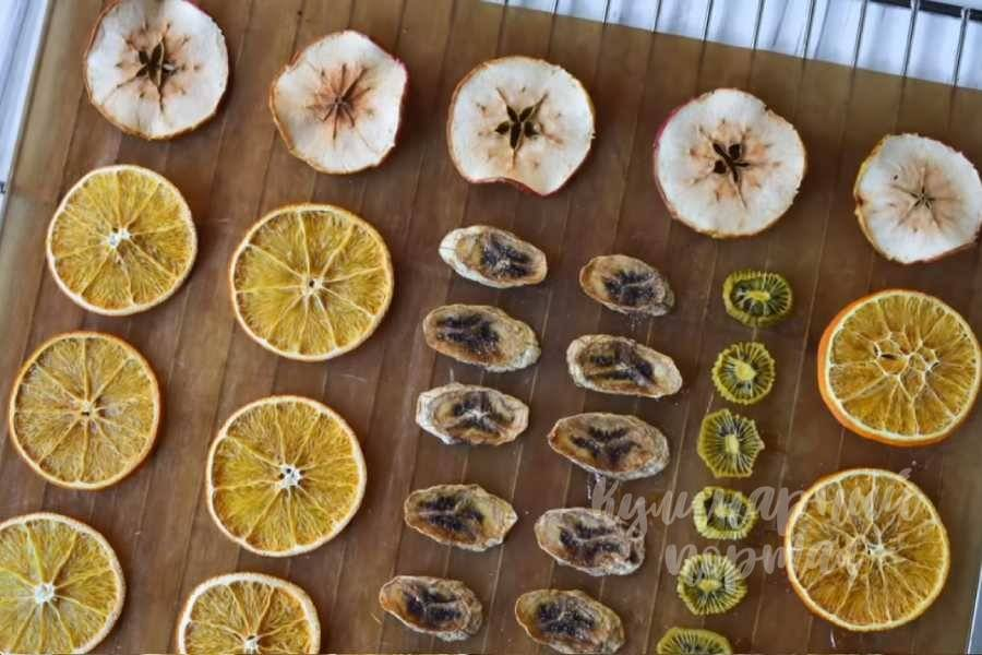 Как засушить апельсины для декора: декоративные поделки из сушеных фруктов