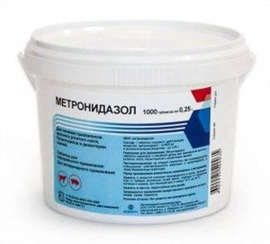 Инструкция по применению лекарственного препарата метронид 50