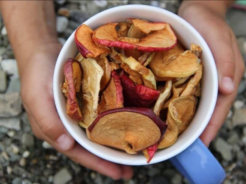 Сушеные яблоки: польза и вред для здоровья, как хранить в домашних условиях | zaslonovgrad.ru