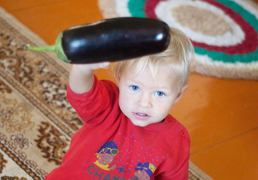 С какого возраста можно давать детям баклажаны? рекомендации врачей и рецепты