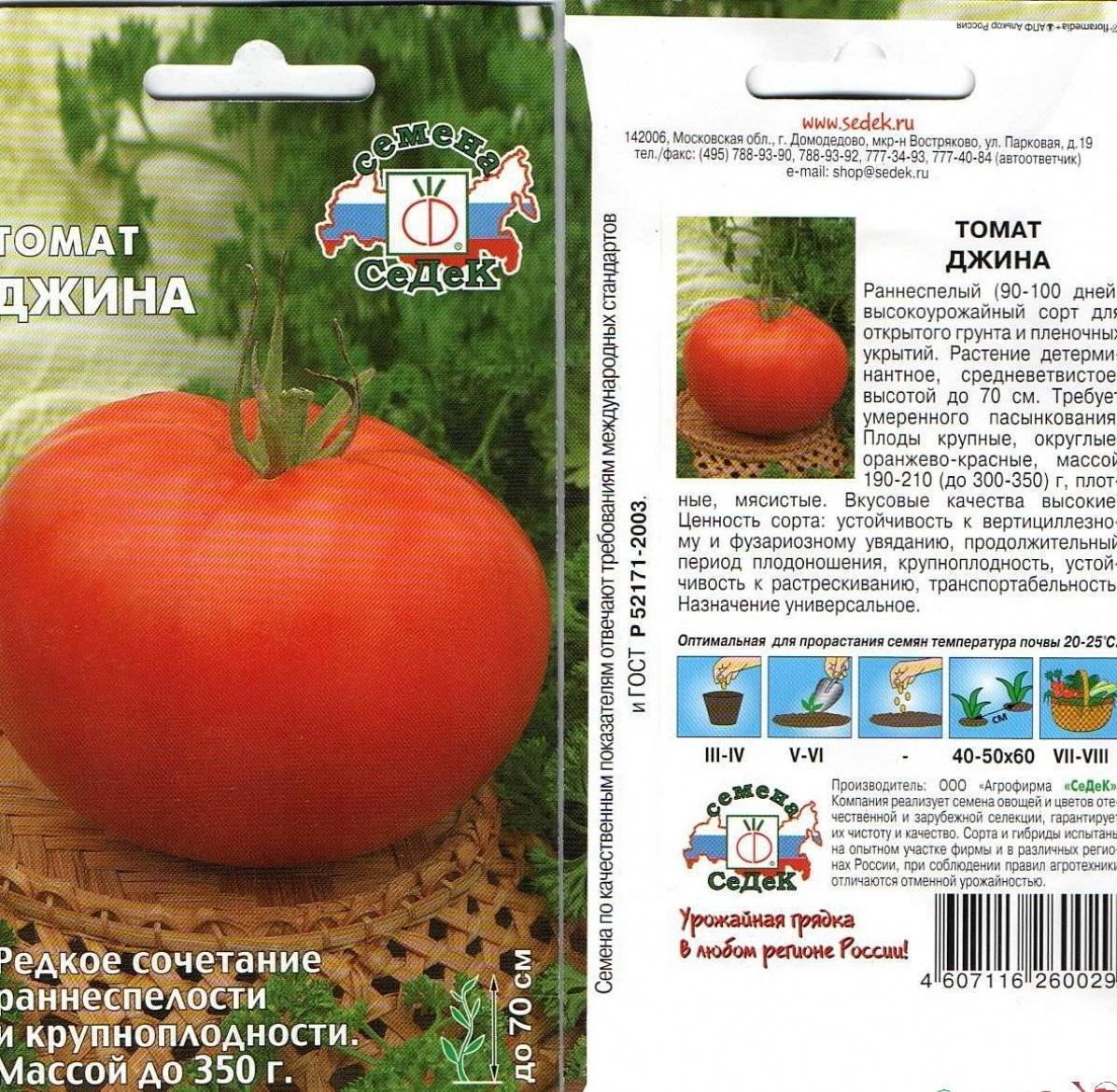 Сорт томата джина: отзывы, фото, описание сорта, характеристики