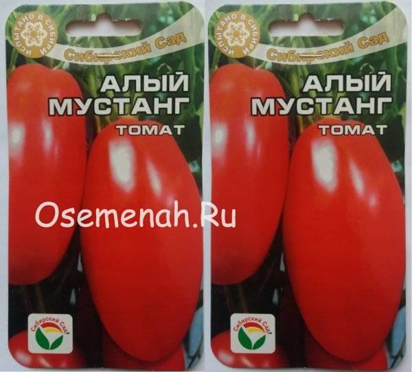 Описание томата алый мустанг