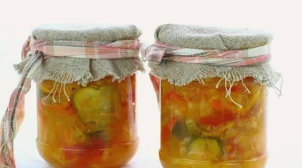"""Салат """"казачий"""" на зиму: рецепт, подготовка ингредиентов, порядок приготовления, фото - samchef.ru"""