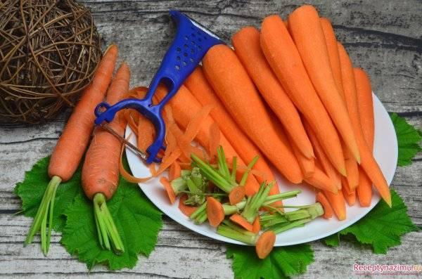 Как сушить морковь в домашних условиях