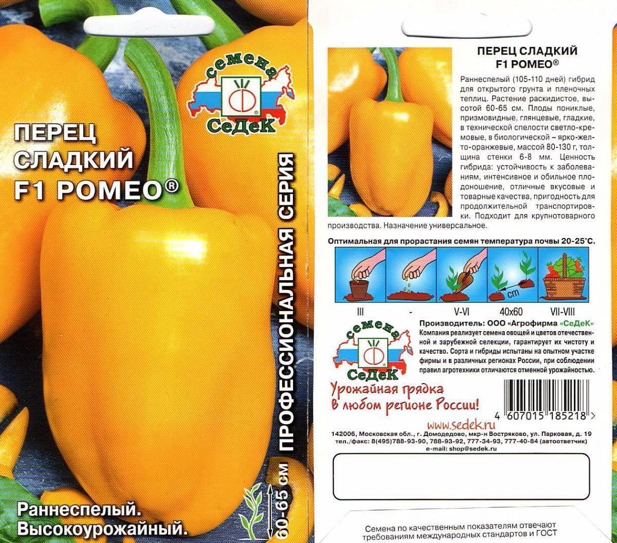 Мясистые толстостенные перцы (новинки 2021)