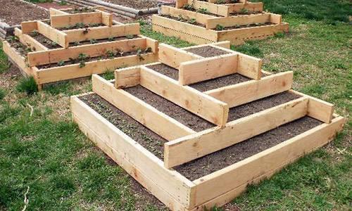 Грядка пирамида для клубники своими руками для посадки и выращивания, видео и фото