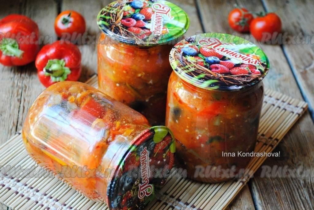 Салат «Бакат» из баклажанов — популярное лакомство