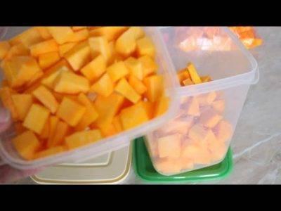 Можно ли замораживать на зиму тыкву кусочками в сыром виде