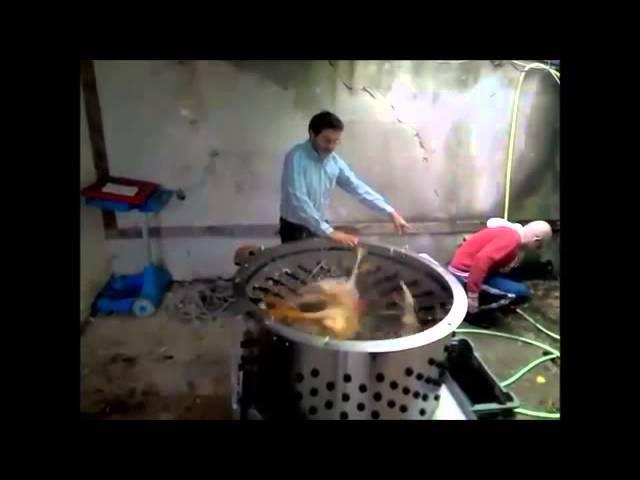 Как сделать перосъемную машину из стиральной машины своими руками