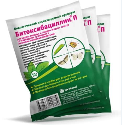 Битоксибациллин: инструкция по применению для растений, нормы расхода