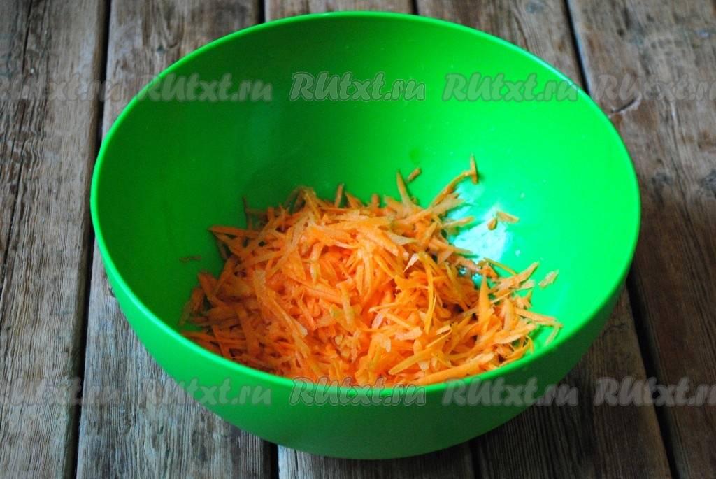 Заготавливаем салат «бакат» из кусочков баклажанов, перца и моркови на зиму