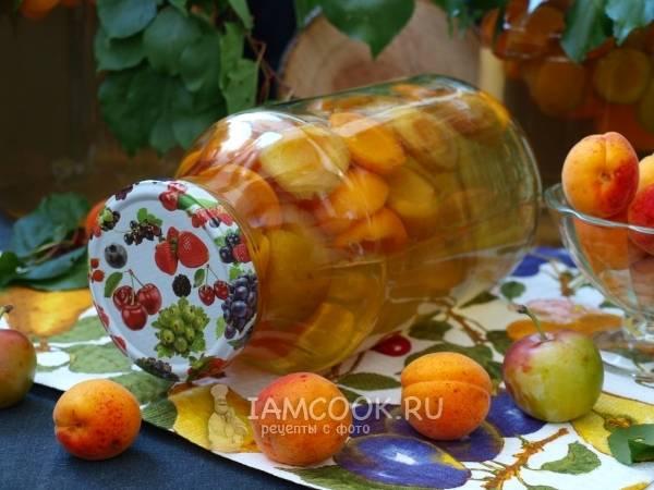 Компот из абрикосов на зиму: простые рецепты без стерилизации