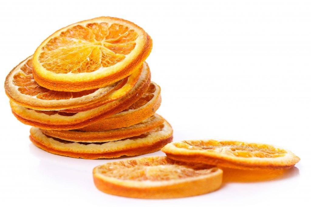 Как высушить апельсин для декора