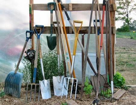 Обработка почвы в теплице весной