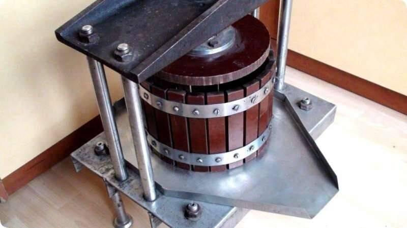Пресс для винограда своими руками: виды и технология изготовления