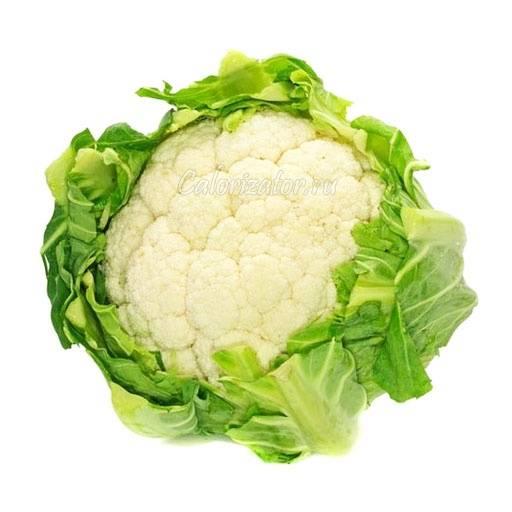 Цветная капуста — состав и калорийность, польза и вред