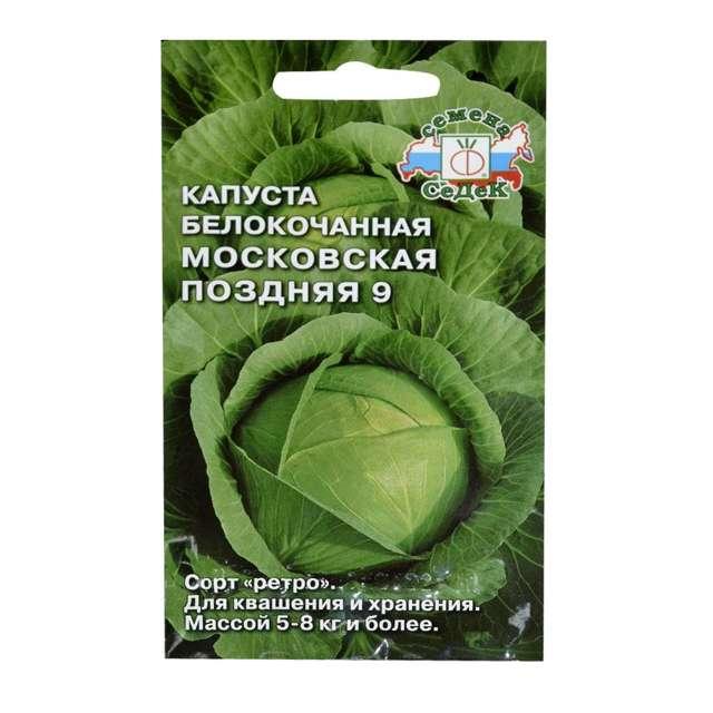 Капуста московская поздняя: характеристика и описание сорта, выращивание