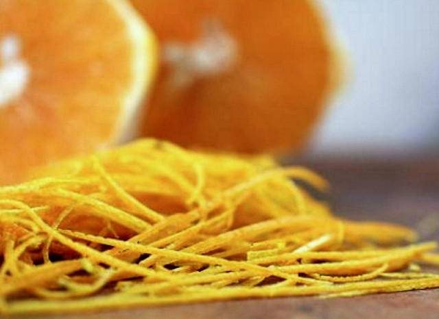 О цедре апельсина и ее пользе для здоровья