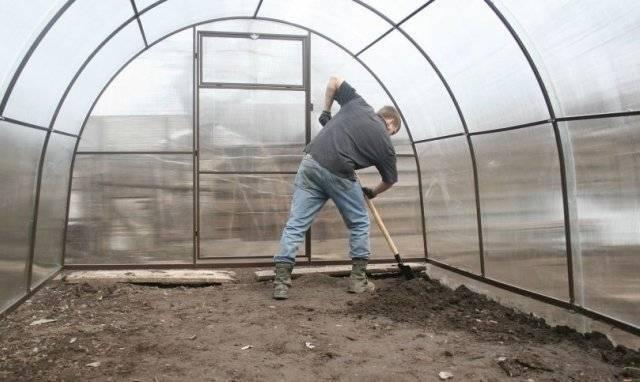 Как правильно подготовить теплицу и почву в ней к зиме