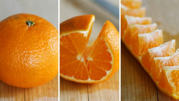 Как почистить апельсин быстро и без брызг?