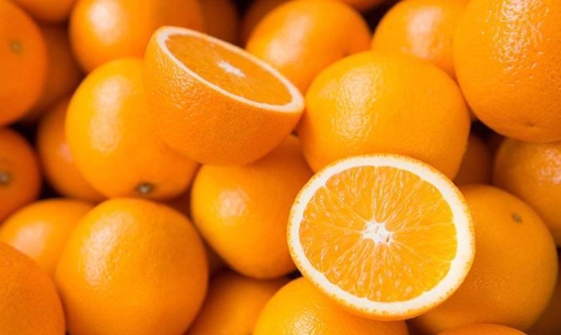 Апельсин — минеральный состав