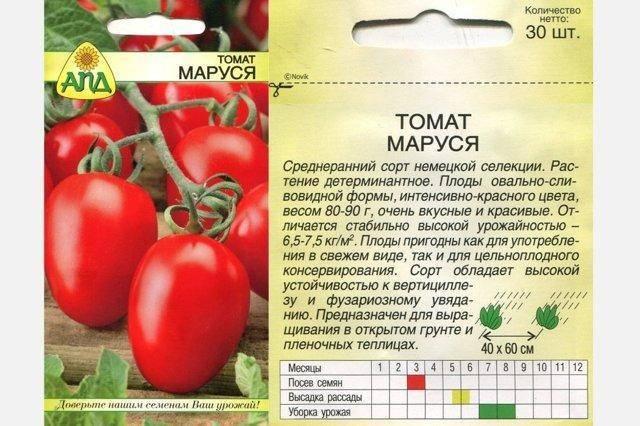 Маруся — отличные европейскиетоматы из категории «сливок»