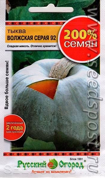 Серая волжская тыква: описание сорта, фото, посадка, выращивание, отзывы