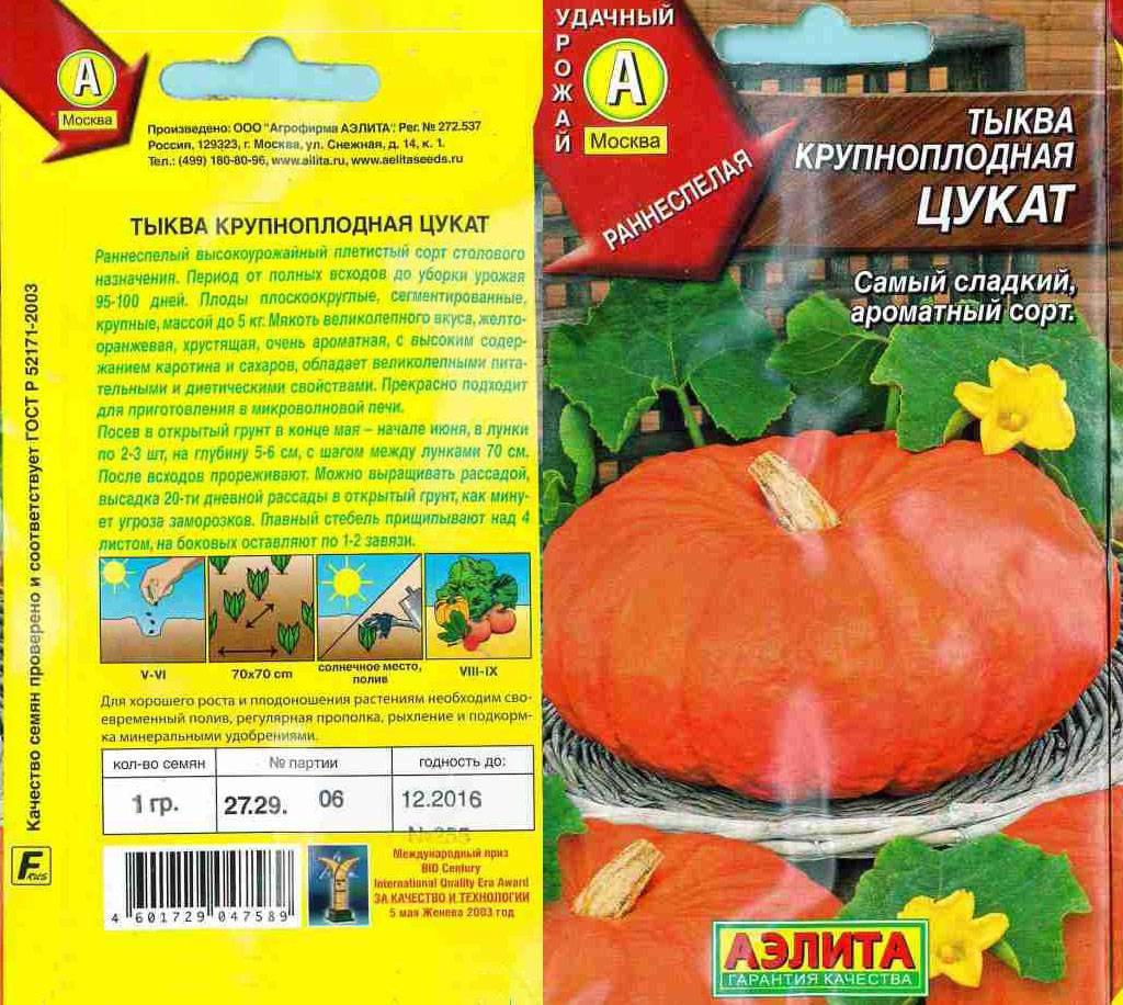 Сорта тыквы с фото и описанием, лучшие и сладкие сорта тыквы + видео