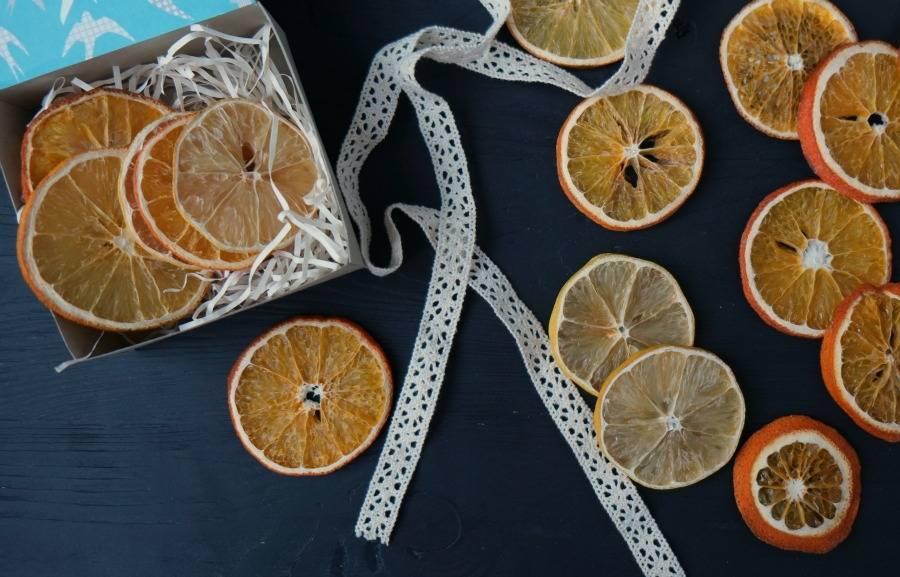 Особенности засушки апельсина для декора и еды