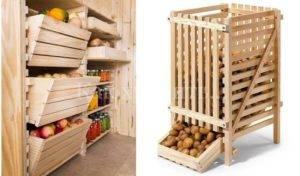 Как и где нужно хранить картошку в квартире