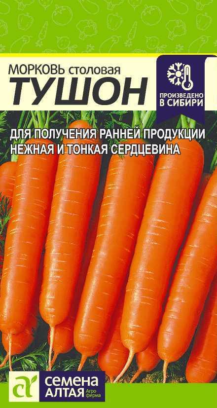 Морковь тушон: описание и характеристика сорта, отзывы и фото