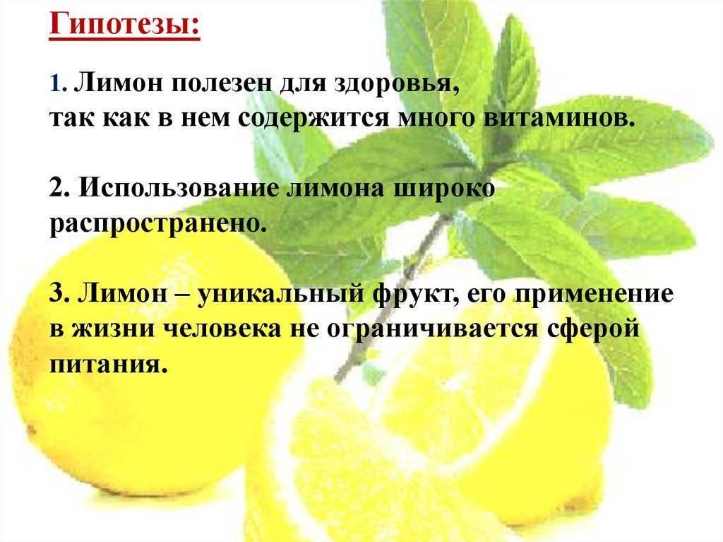 Какие витамины содержатся в апельсине и лимоне