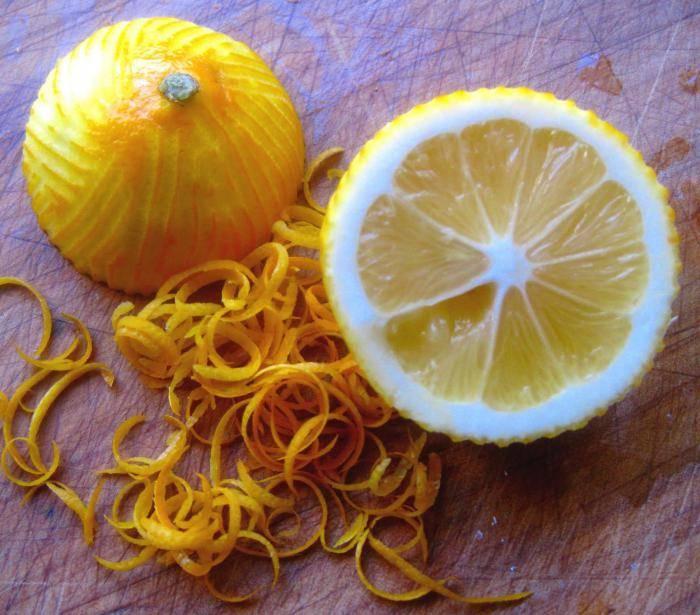 Цедра лимона: польза и вред   польза и вред