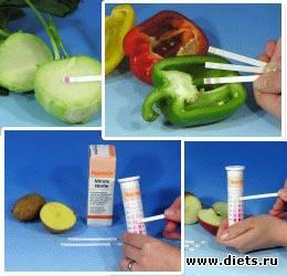 Как проверить овощи на нитраты в домашних условиях