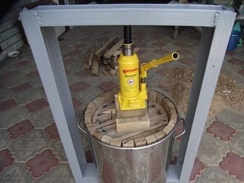 Пресс для винограда, разновидности агрегатов по типу конструкции