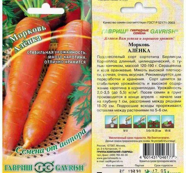 Сорта моркови: лучшие семена для сибири, самые урожайные и морозостойкие