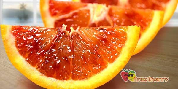Красные апельсины на фото: сорт фрукта с красной мякотью, название и описание