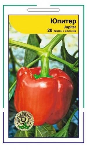 Перец юпитер f1: отзывы, фото и урожайность, описание сорта