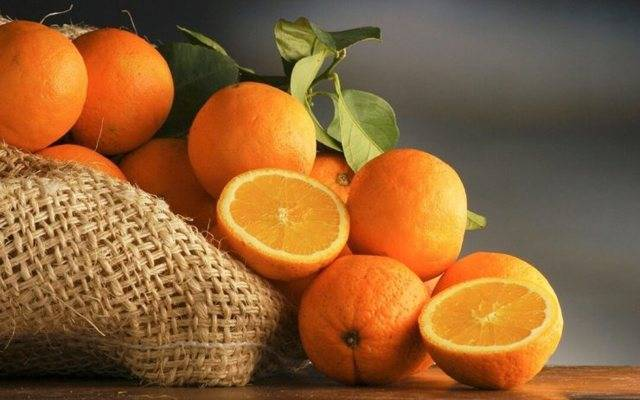 Апельсины — химический состав, пищевая ценность