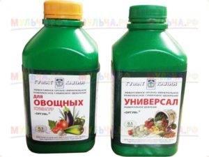 Гуминовые удобрения — способы применения для разных культур. что такое? фото — ботаничка.ru