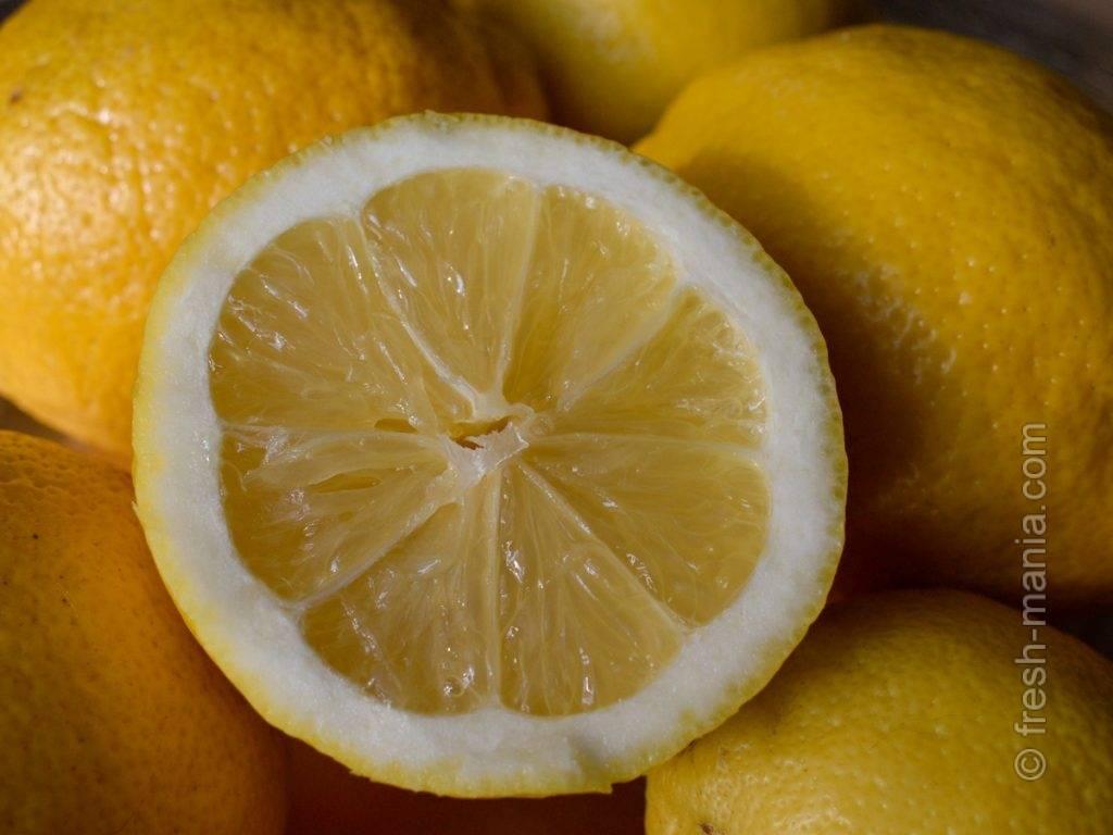 Лимон какой продукт щелочной или
