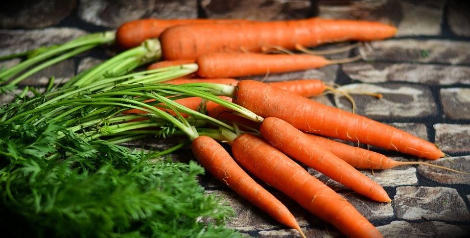 Таблица витаминов в моркови, основные микроэлементы