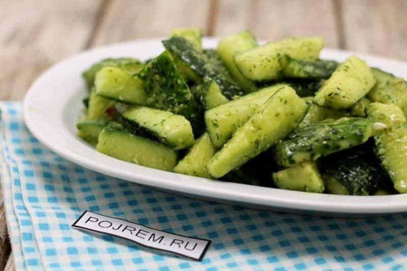 Салат из огурцов на зиму – 5 простых и вкусных рецептов