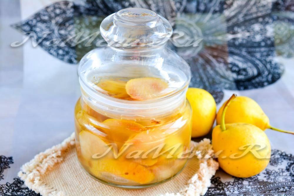 Янтарное варенье из груши — вкусная сладость на зиму