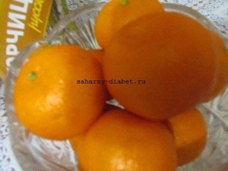 Можно ли есть мандарины при диагнозе сахарный диабет 2 типа, состав фруктов, польза и вред