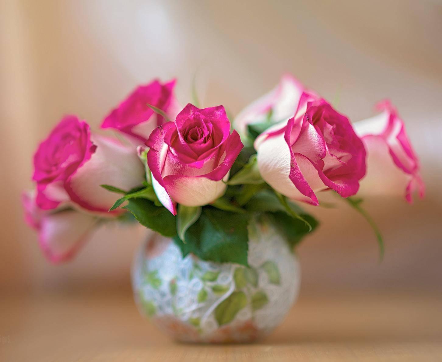 Хранение роз в вазе долгое время