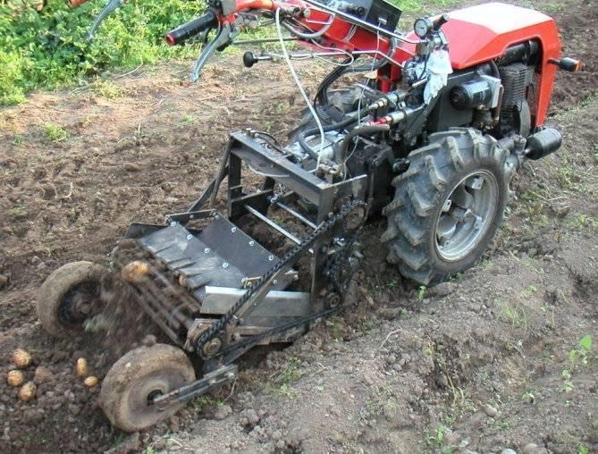 Какое применение в сельском хозяйстве нашла картофелесажалка к мотоблоку?