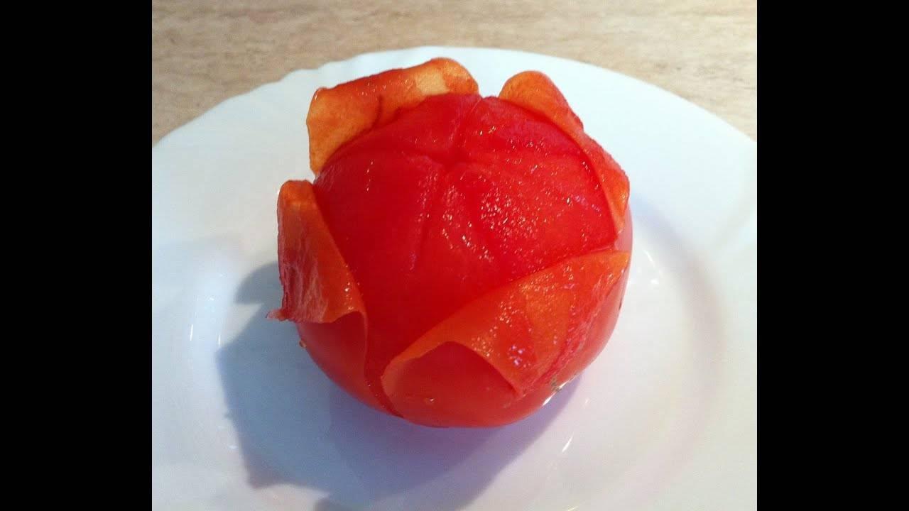 Как снять кожицу с помидоров: три самых простых способа
